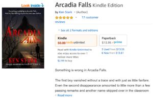 Arcadia Falls by Ken Stark