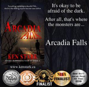 Arcadia Falls, a novel by Ken Stark