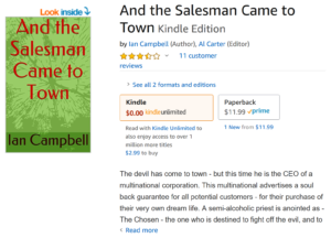 Travis Borne's review: of And the Salesman Came to Town by Ian Campbell Author