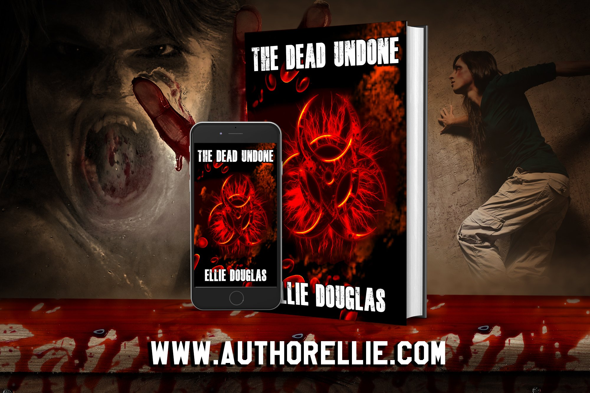 Bookcover art The Dead Undone by Ellie Douglas