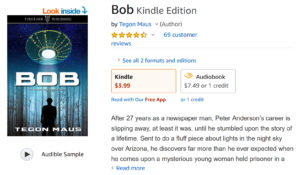 Travis Bornes book review of BOB Kindle Edition