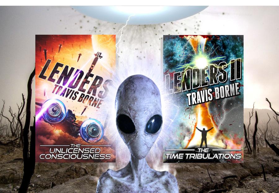 Lenders new scifi book