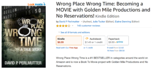 Novel: Wrong Place Wrong Time