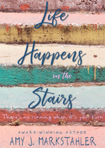 Travis Borne's book review of Life Happens on the Stairs, by Amy J. Markstahler
