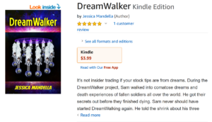 Travis Borne's book review of Jessica Mandella's Dream Walker Novel