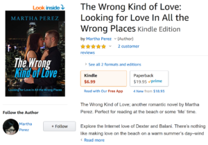 Book review by Travis Borne: The Wrong Kind of Love, by Martha Perez
