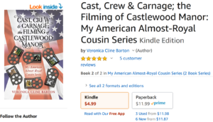 Travis Borne's book review of Cast, Crew & Carnage, by Veronica Cline Barton