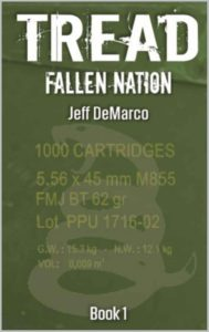 Travis Borne's review of the novel TREAD: Fallen Nation, by author Jeff DeMarco