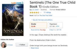 Travis Borne's book review of: Sentinels (The One True Child Book 1)
